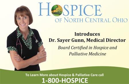 1-800-HOSPICE - Hospice of North Central Ohio