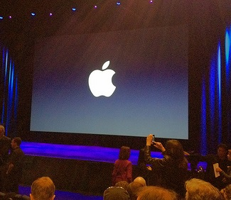 Apple Event with iPhone