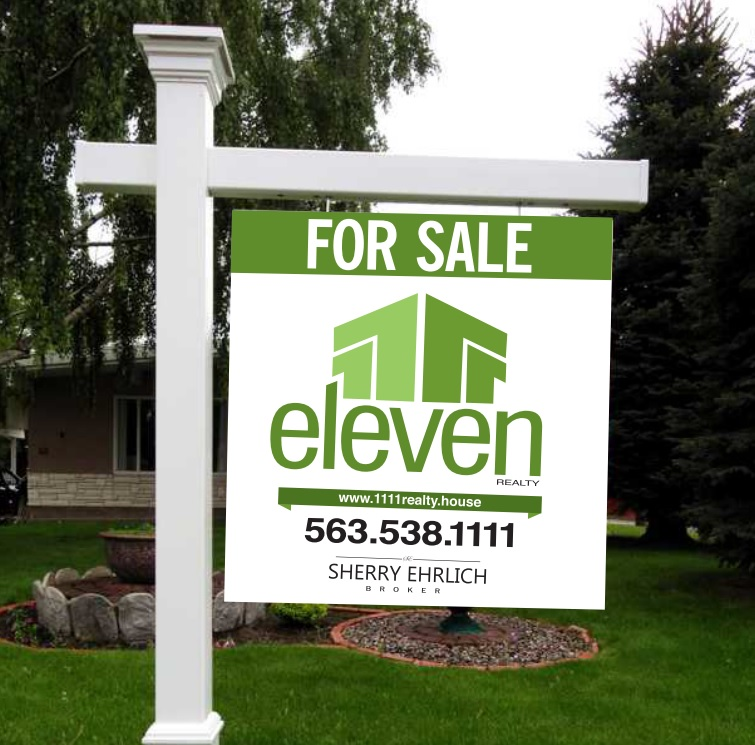 Eleven Eleven Realty sign