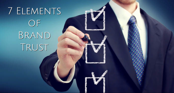 elements of brand trust