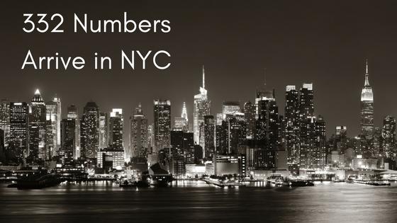 332 numbers Manhattan NYC