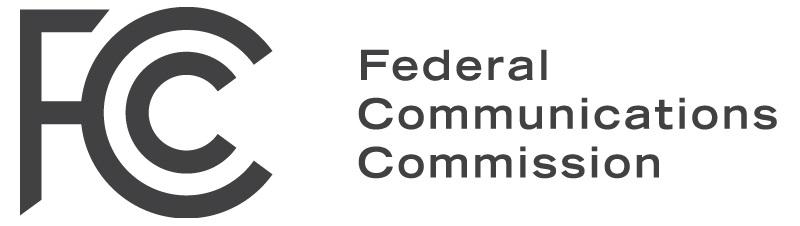 fcc black on white logo