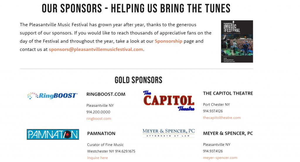 Pville sponsors header