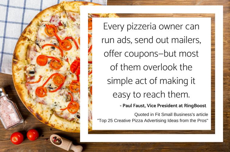 Pizza Advertising Advice